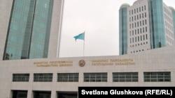 Здание мажилиса парламента Казахстана.