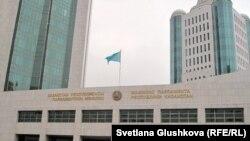 Здание парламента Казахстана.