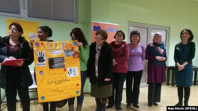Potpora žena ovom društvenom problemu, Tuzla
