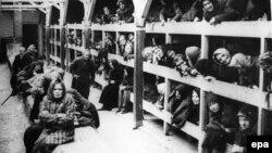 Pamje nga kampi i Auschwitzit në Poloni - Arkiv