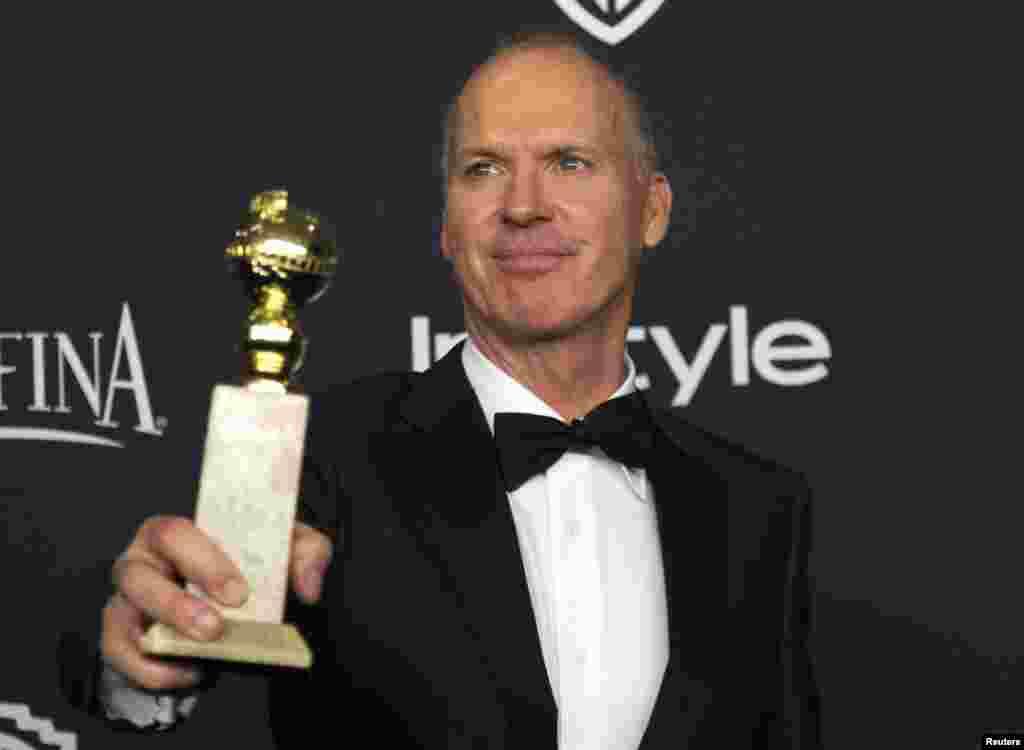 مایکل کیتون٬ بهترین بازیگر نقش اول مرد در فیلمهای کمدی یا موزیکال.