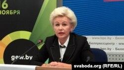 Ірына Касьцевіч, архіўнае фота