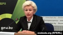 Міністар працы ісацыяльнай абароны Ірына Касьцевіч, архіўнае фота