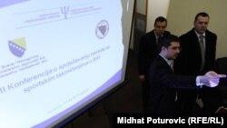 Konferencija o prevenciji nasilja na sportskim takmičenjima, Sarajevo, 7. mart 2012.