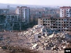 Грозный в феврале 2000 года