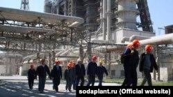 Крымский содовый завод. Архивное фото
