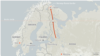 Refugees Seeking To Cross Russian Arctic Border Lack Bikes