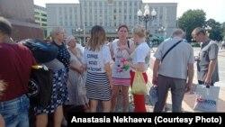 Акция в поддержку Хабаровска в Калинингарде