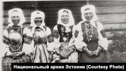 """Кадр из фильма """"Путешествие по Сетумаа"""", 1913"""