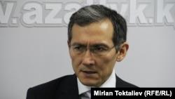 Kyrgyz Deputy Prime Minister Djoomart Otorbaev