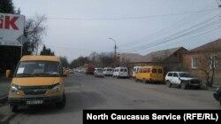 3 марта водители маршруток во Владикавказе не вышли на работу, чтобы принять участие в митинге