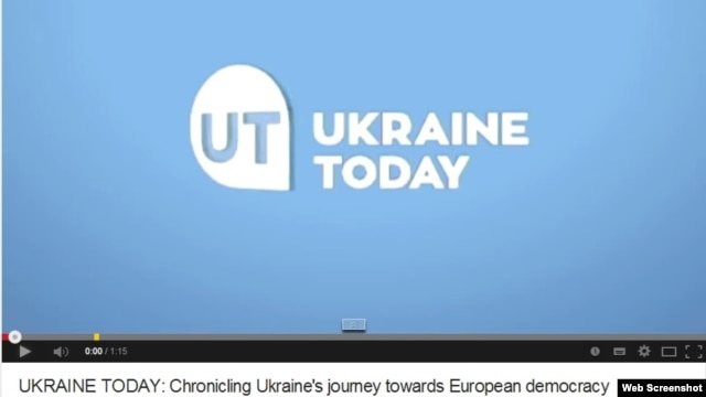A screengrab of Ukraine Today's YouTube channel