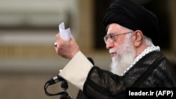 Iranian Supreme Leader Ali Khamenei made his remarks at a gathering on May 23.