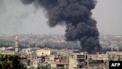 Біля міста Хомс, фото 19 червня 2012 року