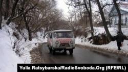 «Швидка» у Дніпропетровську
