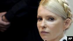Юлія Тимошенко під час судового засідання, Київ, 29 червня 2011 року