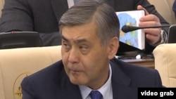 Нурлан Ермекбаев, министр обороны Казахстана.