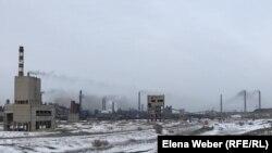 Дымящие трубы в Темиртау.