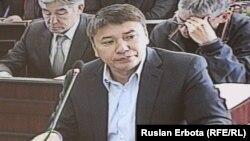 Талгат Ермегияев, главный обвиняемый по делу о хищениях в национальной компании «Астана ЭКСПО-2017», бывший председатель компании.