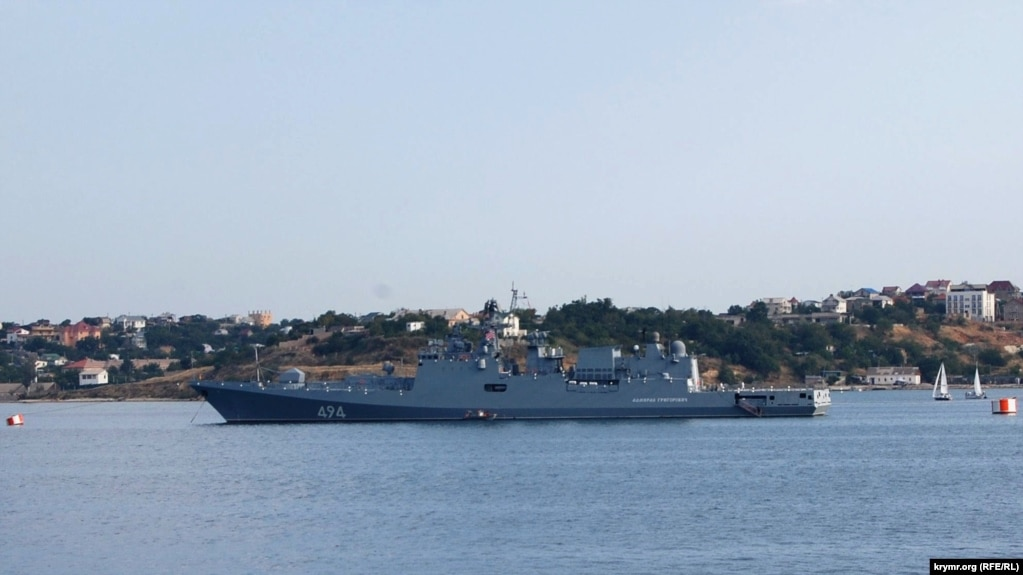 The Crimea port of Sevastopol