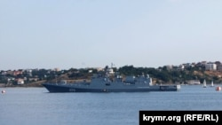 The Crimean port of Sevastopol (file photo)
