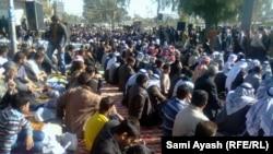 صلاة جمعة موحدة في بعقوبة تضامنا مع معتصمي الانبار-الارشيف