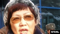 Rozlana Taukina, the head of Kazakh NGO Journalists in Trouble