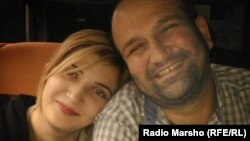 Дудуркаева Луиза с отцом