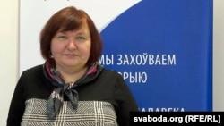 Актывістка грамадзянскай ініцыятывы «За справядлівы прысуд» Людміла Кучура