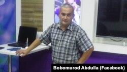 44-летний журналист из Ташкента Бобомурод Абдуллаев.