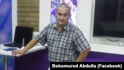 Узбекский журналист Бобомурод Абдуллаев.