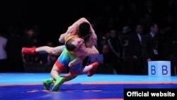 Күрөштүн түрлөрү боюнча Бишкекте өткөн Азия чемпионаты.