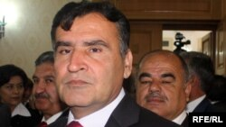 Коммунистік партия атынан сайлауға түскен кандидат Исмоил Талбаков.