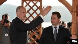 Jorgos Papandreu dhe Nikolla Gruevski