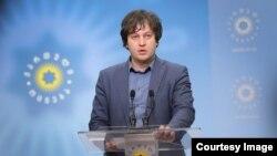 Исполнительный секретарь «Грузинской мечты» Ираклий Кобахидзе