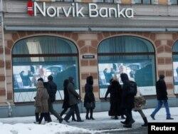 Отделение банка Norvik в Риге