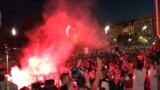 Riot Police Break Up Anti-Government Protests In Belgrade GRAB 3