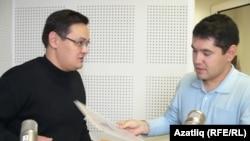 Айдар Гыймадиев (с) белән Данил Сәфәров
