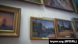 Выставка картин Айвазовского и Шишкина. Симферополь, 2018 год