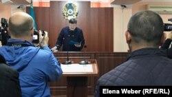 Оглашение приговора по делу об убийстве в ресторане «Древний Рим». Караганда, 4 ноября 2019 года.