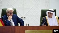 وزیر امور خارجه عربستان در کنفرانس مشترک خبری با همتای آلمانیاش