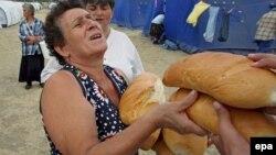 Качкындар лагеринде башпаанек тапкан Горинин тургуну, 2-сентябрь, 2008-жыл