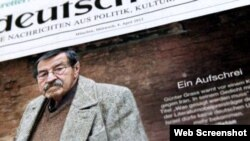 گونتر گراس، نویسنده شهیر آلمانی