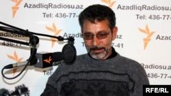 Мирза Сакит в студии РадиоАзадлыг, 26 февраля 2010