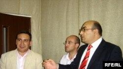 Rəşad Məcid, Cavid Cabbaroğlu və İqbal Ağazadə, 24 sentyabr 2008