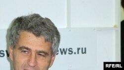 Леонид Гозман в студии Радио Свобода