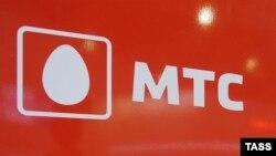 Логотип российского сотового оператора МТС.