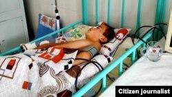 11-летний Б.Х., избитый своим учителем, до сих пор остается в состоянии комы