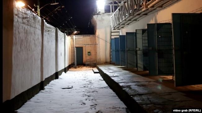 Ізяславська в'язниця у приміщенні старого замку, 31 січня 2018 року