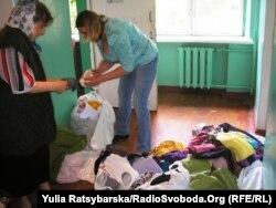 Центр допомоги переселенцям у Дніпропетровську, червень 2014 року